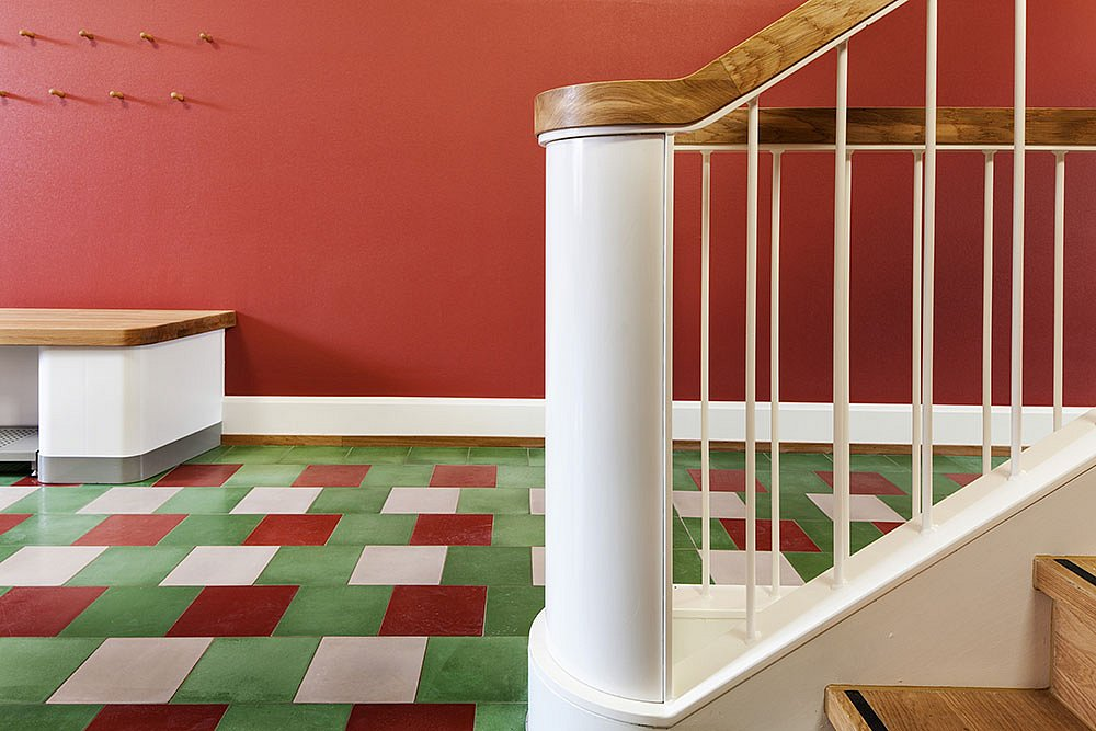 Treppenhaus im 1. Obergeschoss