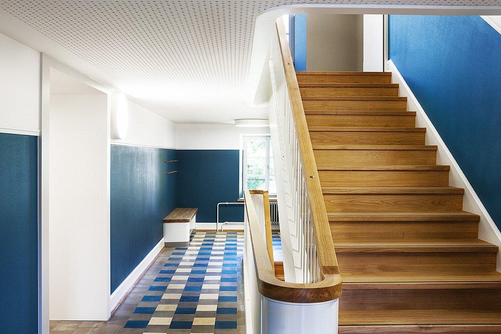 Treppenhaus im 2. Obergeschoss